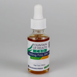 Tropical Mango CBD Oil