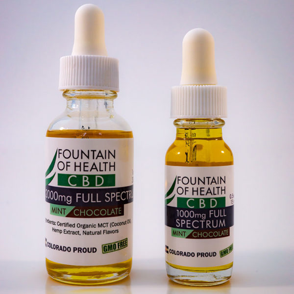 Mint Chocolate CBD Oil