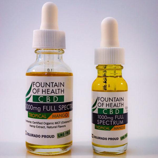 Tropical Mango CBD Oil