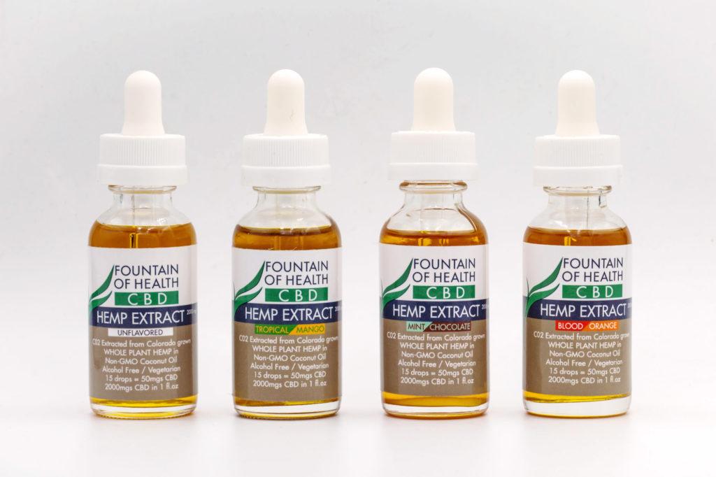 Flavored Hemp CBD Oil