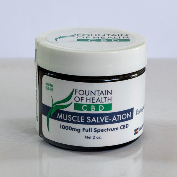 CBD Oil Muscle Salve-ation 2 oz
